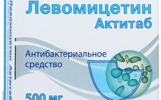 Левомицетин при цистите у женщин: инструкция