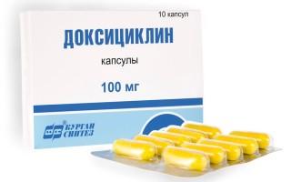 Доксициклин при лечении цистита у женщин