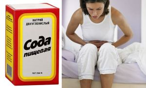 Лечение цистита содой пищевой