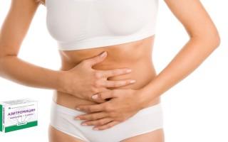 Азитромицин при цистите у женщин: как принимать