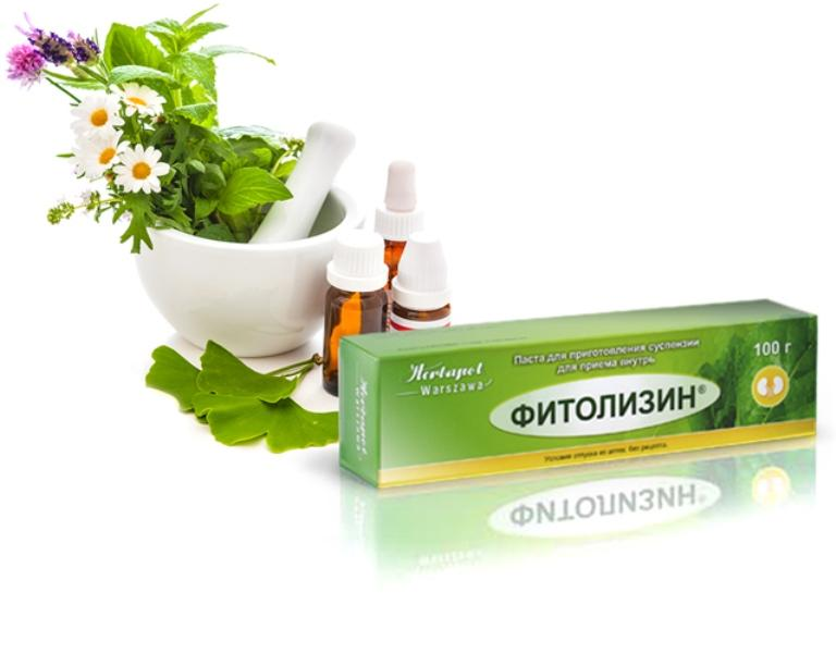 Паста от цистита Фитолизин – инструкция, схема лечения