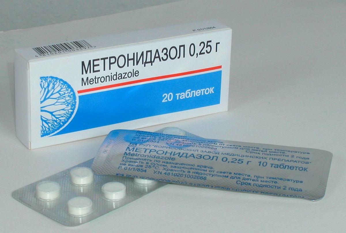 Метронидазол при воспалении мочевика