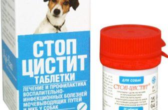 Уросептик для собак