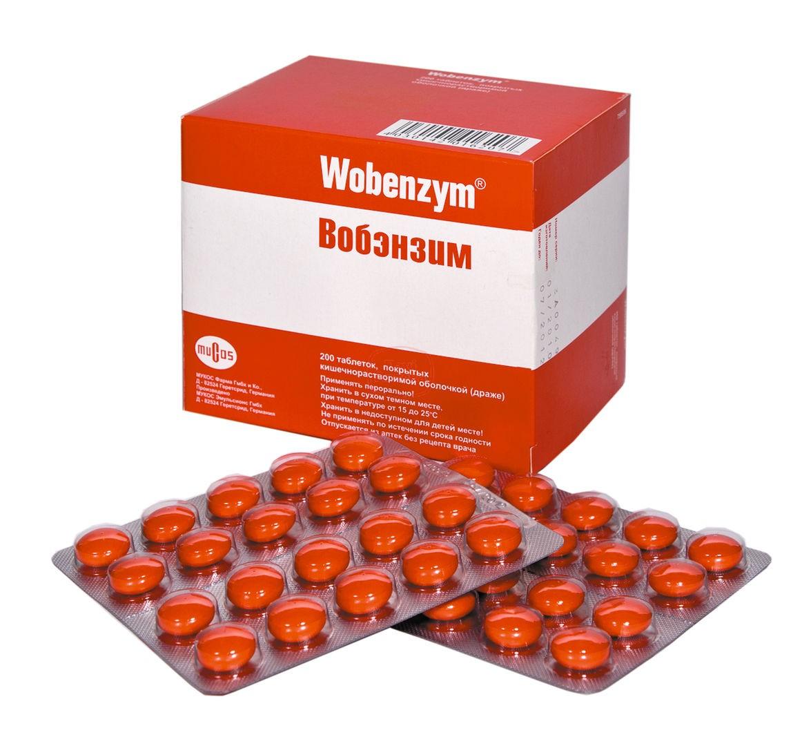 Вобэнзим при цистите – инструкция по применению, отзывы